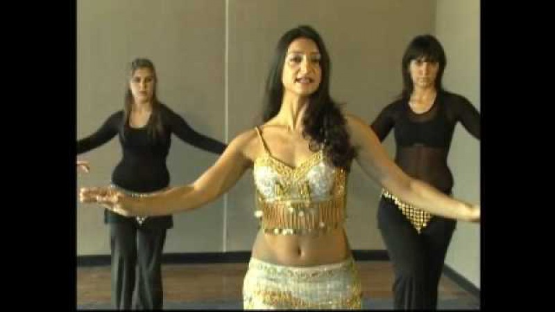 Pasos basicos de la danza Árabe Leila Loberse Pecho Shimy de hombro y cadera