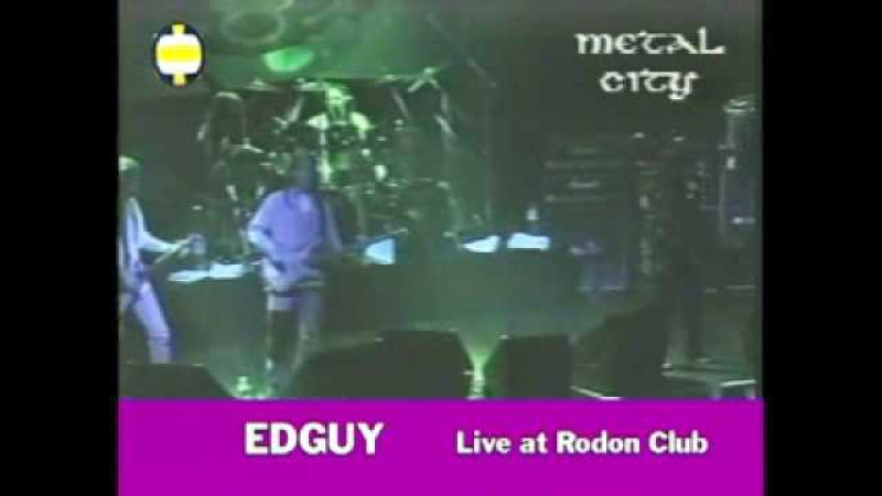 EDGUY Out of Control Live at Rodon Club 29 3 1998