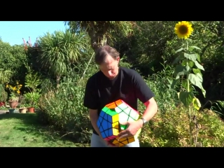 Largest Megaminx Puzzle in the world by Tony Fisher (who else-)