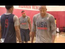 Team USA 1 on 1VS Monty Williams | KD, Carmelo, Draymond, Paul George, Derozan