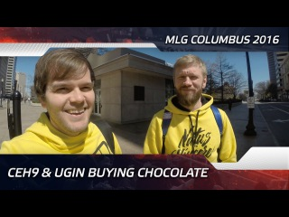 Ceh9 & Ugin Buying Chocolate @ MLG Columbus 2016 (ENG SUBS)