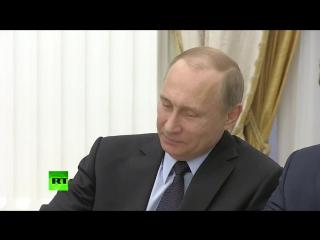Владимир Путин провел встречу с Раулем Кастро в Кремле