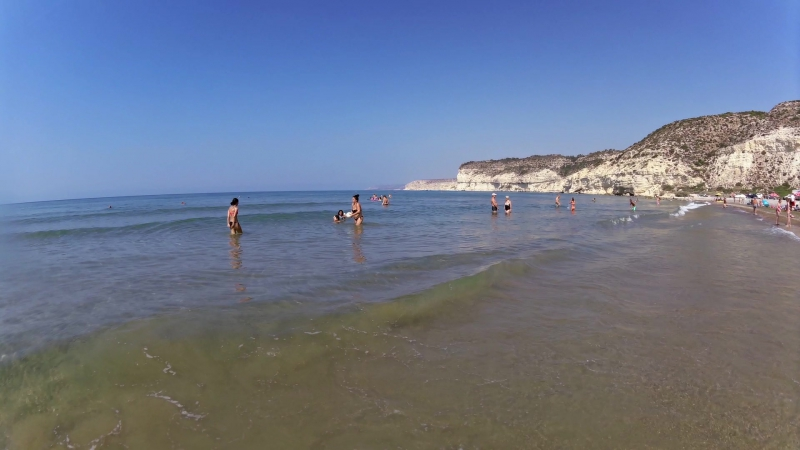 Sunday morning at Curium beach Limasso 2015