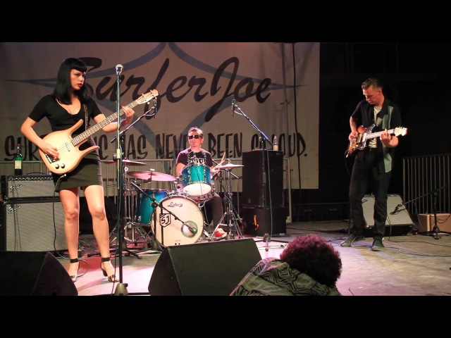 Messer Chups - Popcorn live at Surfer Joe Summer Festival 2015 Livorno Italiy