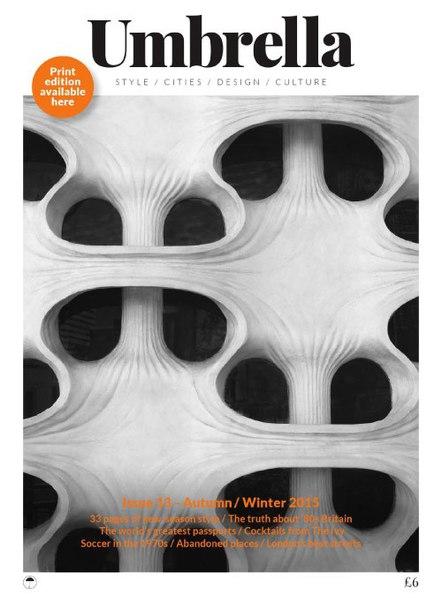 Umbrella - Issue 13, Autumn Winter 2015