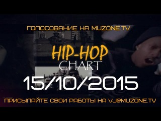 HIP-HOP CHART на MUZZONE, 15/10/2015