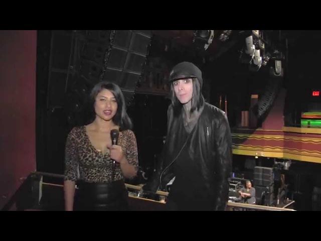 Interview with Chris Corner IAMX by Neglah Sex Depression and Evolution Metanoia Tour 2015