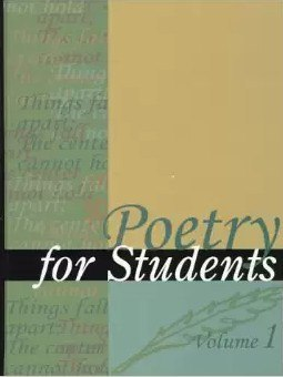 Poetry for Students Volume 1