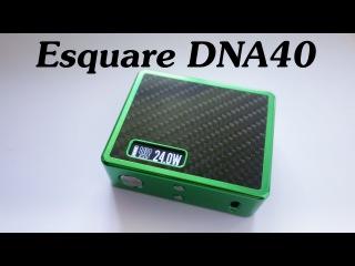 Боксмод Esquare DNA40 by LostVape ( обзор от Зануды )