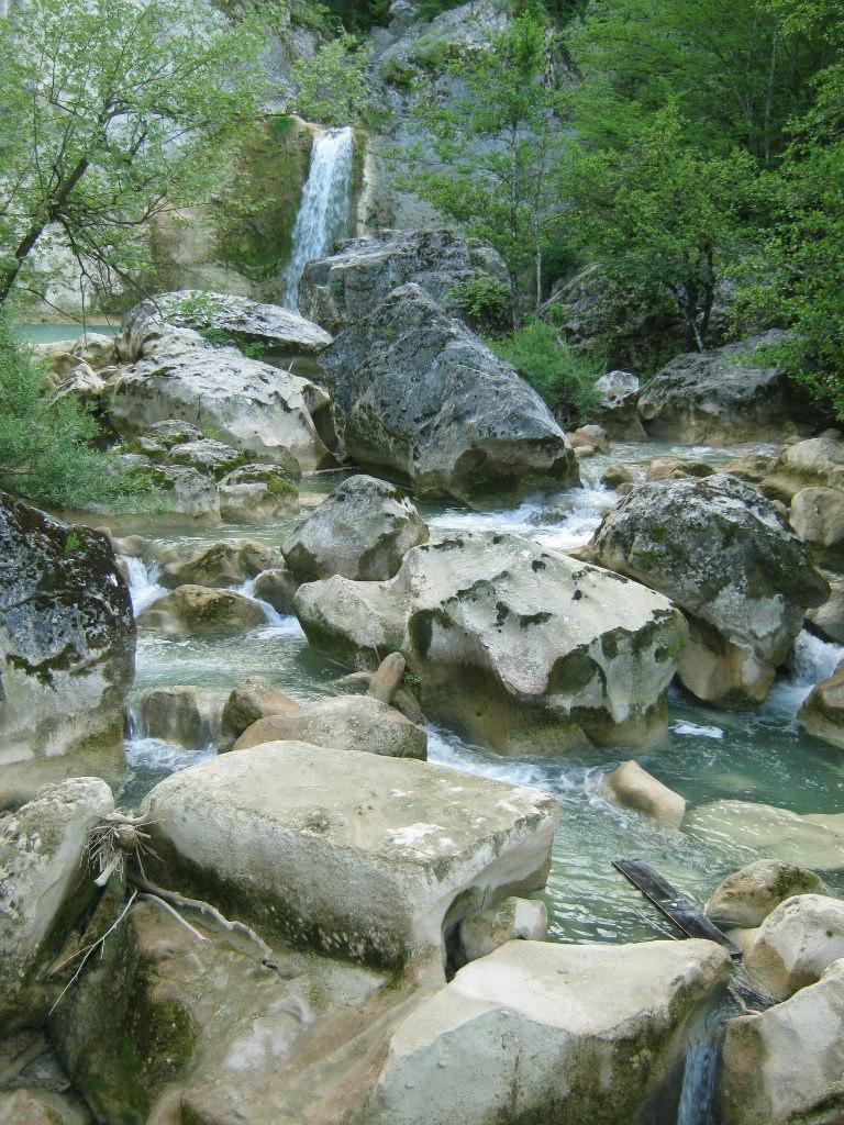 Водопад Илиджа (по-турецки Ilica)