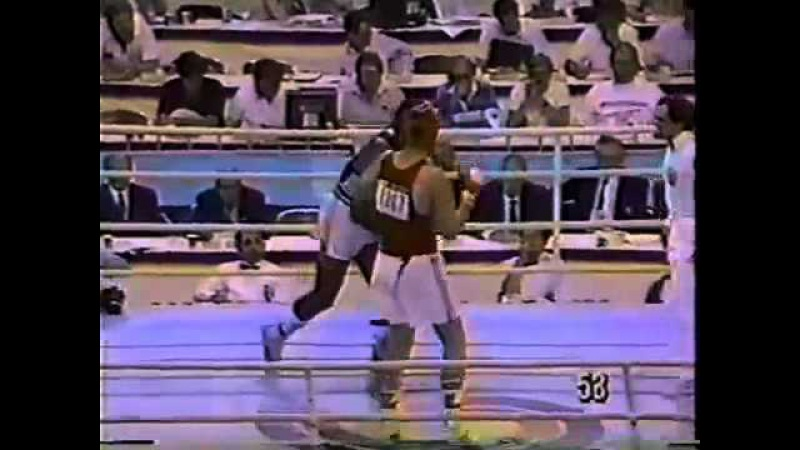 Риддик Боу(США) - Александр Мирошниченко(СССР)91 кг.Олимпиада-88. Полуфинал.