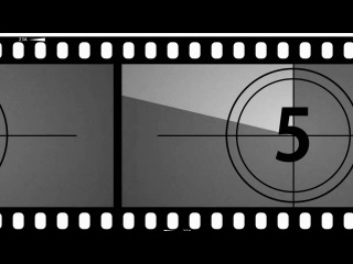 Old Movie Countdown Timer - After Effects v1