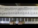ВАЛЬС ЦВЕТОВ П.Чайковский из балета ЩЕЛКУНЧИК на пианино с нотами Игра по нотам