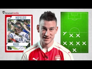 Laurent Koscielny's Ultimate XI | Messi and Ronaldo don't make the cut!