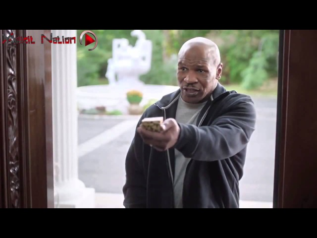 Mike Tyson Gives Evander Holyfield His Ear Back HD 2014 Commercial