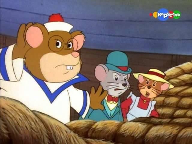 Мышь деревенская и мышь городская Приключения отважных кузенов 18 Полет на дирижабле