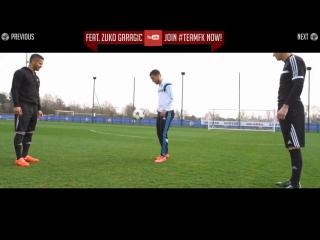 Eden hazard skills crazy football soccer skill move tutorial