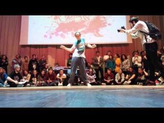 Vitek popping judge demo | Funky Man 2015