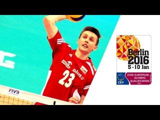 MATEUSZ BIENIEK vs france 2016 European Olympic Qualification Highlights