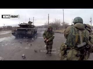 Драка ополченцев. Ольхон наказал бойца ДНР.