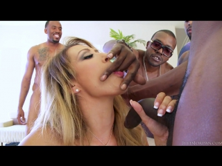Jules Jordan - Capri Cavanni Interracial Gang Bang