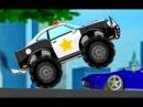 Монстер Трак Полицейская Машина Мультики про машинки для Детей Все серии подряд Monster Truck Police