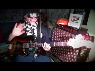Cody Wright - Funky Loop Jam - Fender Jazz Bass (fingerstyle) & Zon Sonus Special (picking/slap)