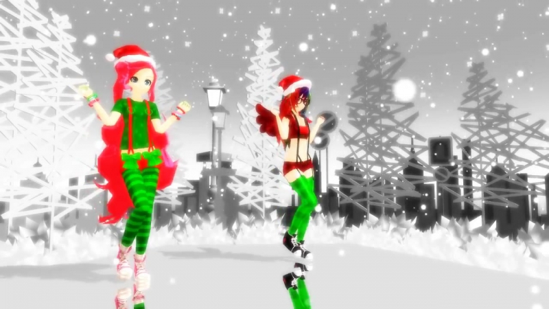 MMD Christmas Caramelldance My Little Pony
