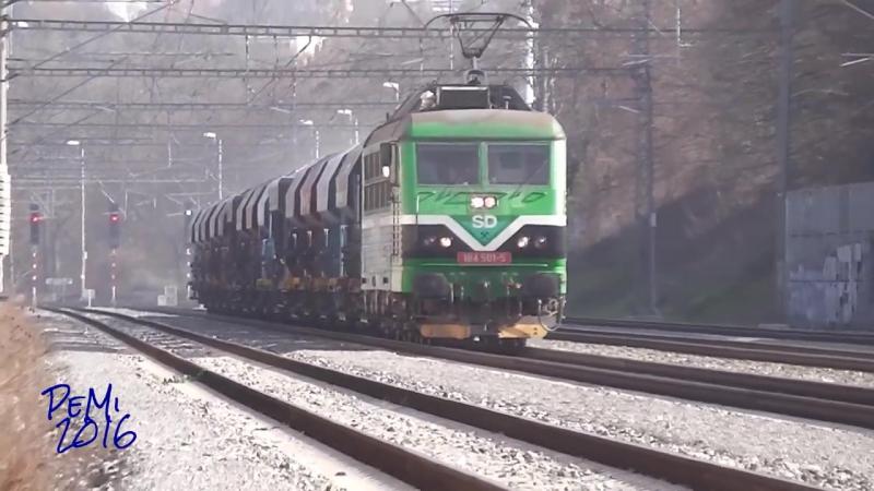Zeleznice - 184. 501 SD v prazske Bubenci