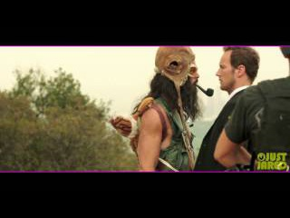 Chris Pine Goes Nearly Naked in 'Stretch' Gag Reel (Exclusive)
