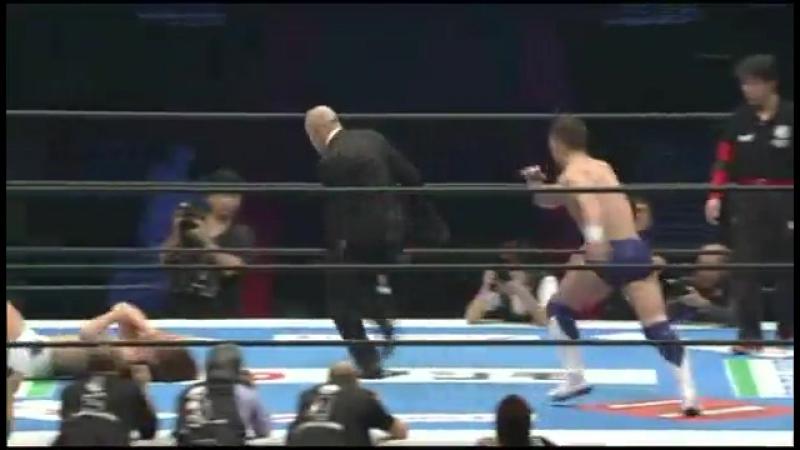 [IWU] Prince Devitt vs. Low Ki vs. Kota Ibushi - NJPW Wrestle Kingdom 7 - Evolution