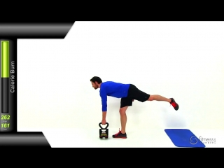 БИЕО Kettlebell Til You Drop - 40 Minute Killer Total Body Kettlebell Workout Routine