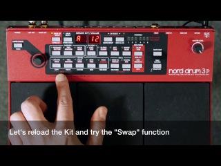 Nord Drum 3P Basics #2 - Menus, Copy/Paste, Swap and Init Sound