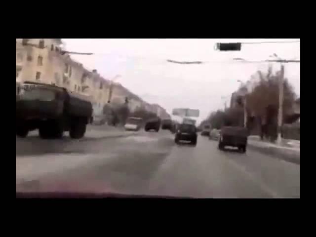 Колонна РФ уже в Луганск Мобилизация ЛНР ДНР 04 02 2015