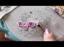 Вышивка рококо учимся правильно создавать узелок мк по вышивке