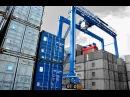 Контейнерный кран на пневмоколесном ходу RTG компании БАЛТКРАН. RTG crane of BALTKRAN