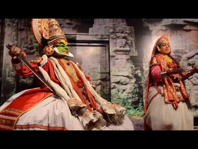 Индийское театральное искусство Катхакали Керала