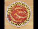 блюдо из макарон с мясом