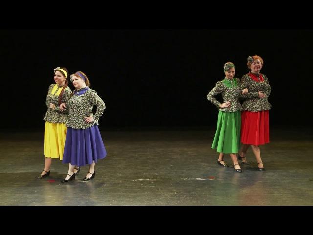 Деревенское гуляние - стилизация народного танца Кадриль
