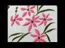 How to make Flower with Vandyke stitch