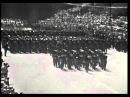 Bersaglieri del 3° Reggimento sfilano alla parata del 2 Giugno 1967 a Roma