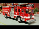 Мультфильмы для детей Пожарная машина и Полицейская машина в Городе Мультик п