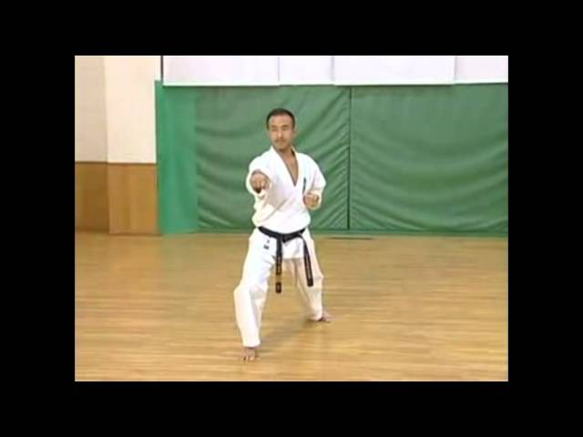 Каратэ Киокушинкай: Ката - Пинан Соно Сан | Kyokushin Karate: Kata - Pinan Sono San