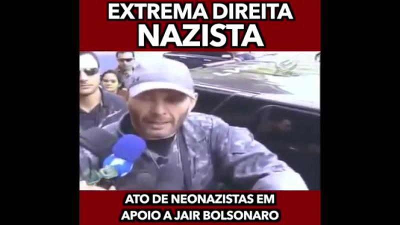 Bolsonaro desenterrando o Nazismo Direitista