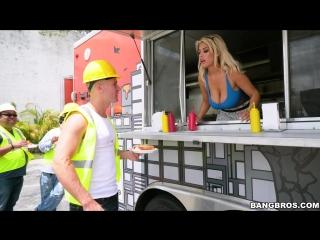 BigTitsRoundAsses / BangBros Bridgette B Serves A Pair Of Huge Tits 2017, MILF, Big Tits, Cum In Mouth, 1080p