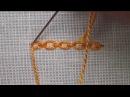Вышивка Тамбурный шов