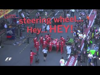Kimi raikkonen wants his steering wheel