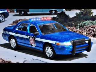 The Police Car Accident - Baby Cars in the City | Cartoons for Kids