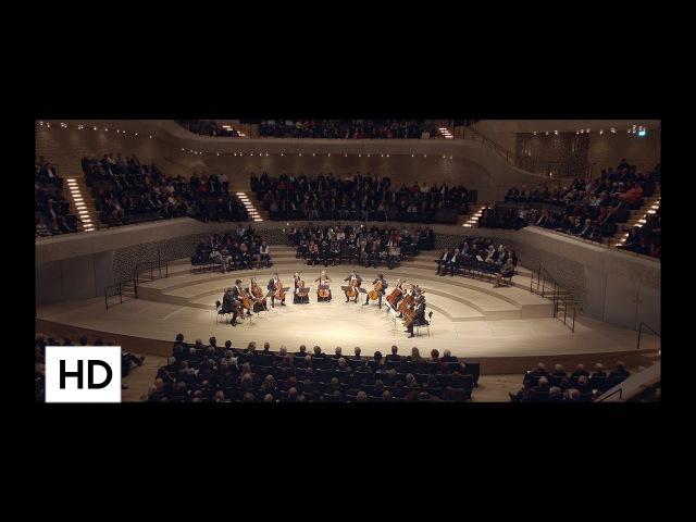 Ástor Piazzolla Fuga y Misterio for 12 Celli Die 12 Cellisten der Deutschen Stiftung Musikleben