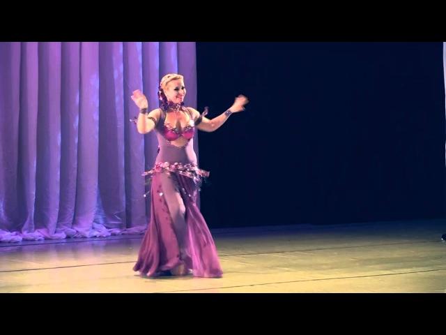 Natalia Fadda Mohamed Ali in Ekaterimburg concert Rakkasa 25/10/15